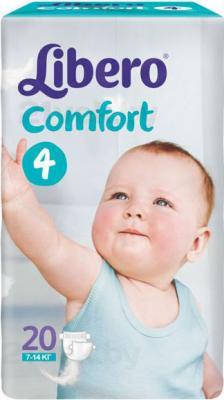 Подгузники Libero Comfort 4 (20шт) - общий вид