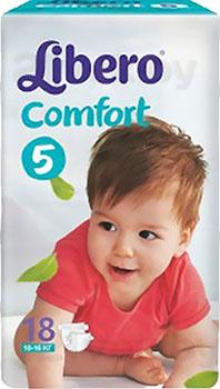 Подгузники Libero Comfort 5 (18шт) - общий вид