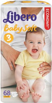 Подгузники Libero Baby Soft Midi 3 (68шт) - общий вид