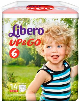 Подгузники-трусики Libero Up&Go XL 6 (14шт) - общий вид