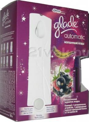 Автоматический освежитель воздуха Glade Automatic Искушающие Ягоды (175гр) - общий вид