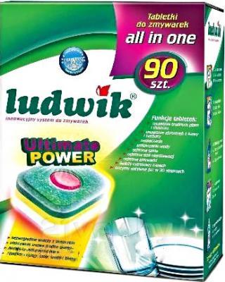 Таблетки для посудомоечных машин Ludwik All in One (90шт) - общий вид