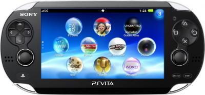 Игровая приставка Sony PlayStation Vita Wi-fi (PS719269083) - фронтальный вид