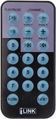 FM-модулятор iLink PTFM26S - пульт ДУ