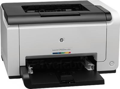 Принтер HP LaserJet Pro CP1025nw Color Printer (CE918A) - общий вид