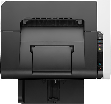 Принтер HP LaserJet Pro CP1025nw Color Printer (CE918A) - вид сверху