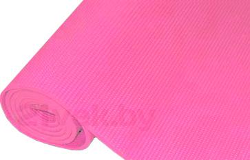 Коврик для йоги NoBrand YM-5 (розовый) - общий вид