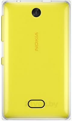Мобильный телефон Nokia Asha 500 Dual (Yellow) - задняя панель