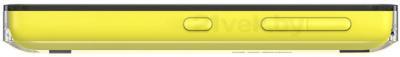 Мобильный телефон Nokia Asha 500 Dual (Yellow) - боковая панель