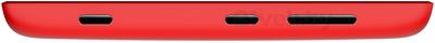 Смартфон Nokia Lumia 520 (Red) - боковая панель