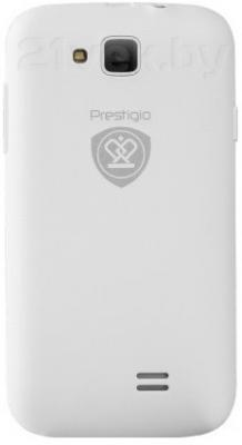 Смартфон Prestigio MultiPhone 3400 DUO (White) - задняя панель