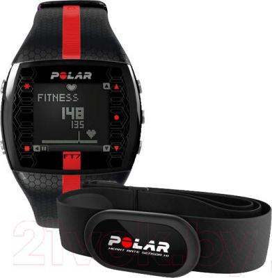 Пульсометр Polar FT7 (Black-Red)
