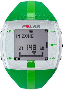Пульсометр Polar FT4 (зеленый) - общий вид