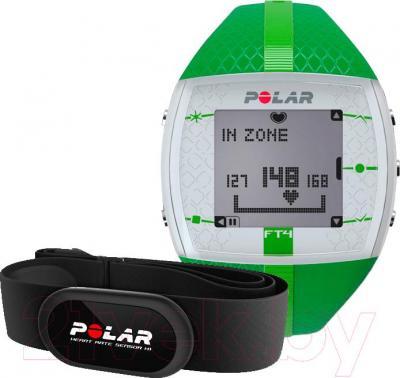 Пульсометр Polar FT4 (зеленый)