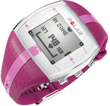 Пульсометр Polar FT4 (фиолетово-розовый) - общий вид