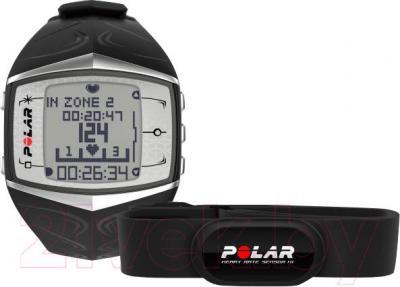 Фитнес-трекер Polar FT60 (черный/белый дисплей)
