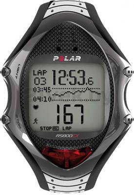 Пульсометр Polar RS800CX Run - общий вид