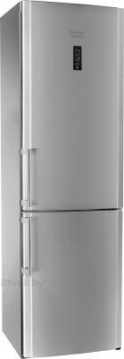 Холодильник с морозильником Hotpoint HBU 1201.4 X NF HO3 - общий вид