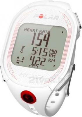 Пульсометр Polar RCX3 GPS (White) - общий вид