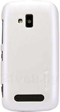 Задняя крышка для Nokia Lumia 610 Nillkin Shining (White) - общий вид
