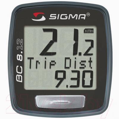 Велокомпьютер Sigma BC 8.12 (08120)