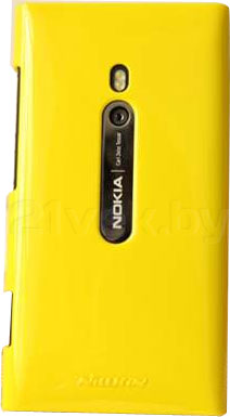 Задняя крышка для Nokia Lumia 800C Nillkin Shining (Yellow) - общий вид