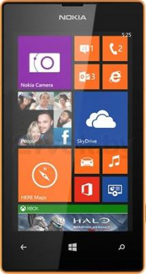 Смартфон Nokia Lumia 525 (Orange) - общий вид