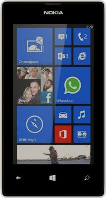 Смартфон Nokia Lumia 525 (White) - общий вид