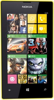 Смартфон Nokia Lumia 525 (Yellow) - общий вид
