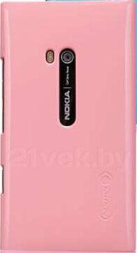 Задняя крышка для Nokia Lumia 900 Nillkin Shining (Pink) - общий вид