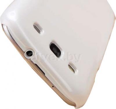 Задняя крышка для Samsung I9300 Nillkin Shining (White) - доступ к разъемам