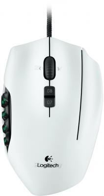 Мышь Logitech G600 Gaming Mouse (910-002872) - вид сверху