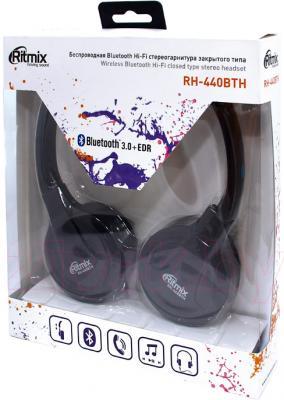 Наушники-гарнитура Ritmix RH-440BTH - в упаковке