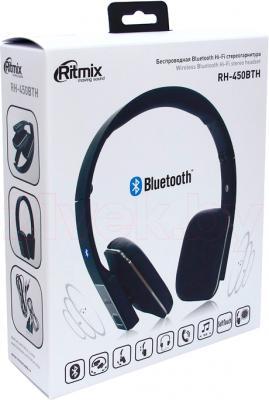 Наушники-гарнитура Ritmix RH-450BTH - в упаковке