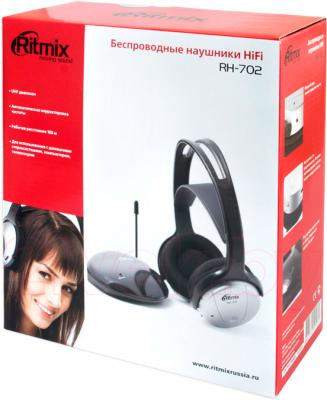 Наушники Ritmix RH-702 - упаковка