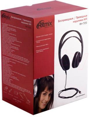 Наушники Ritmix RH-705 - упаковка