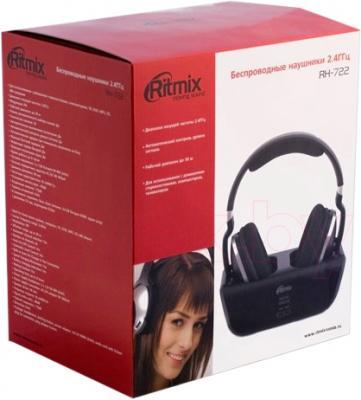 Наушники Ritmix RH-722 - упаковка