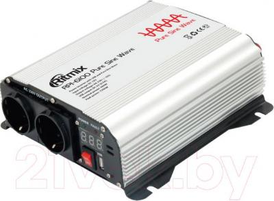 Автомобильный инвертор Ritmix RPI-6100 Pure Sine - общий вид