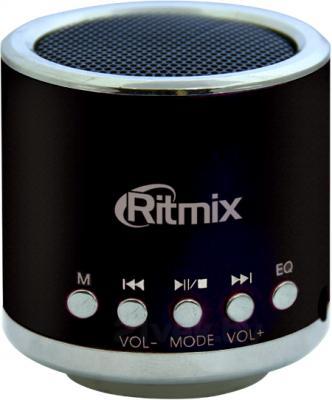 Портативная колонка Ritmix SP-090 (Black) - общий вид