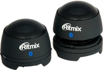 Портативные колонки Ritmix SP-2013BT (черный) - общий вид