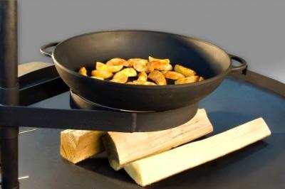 Гриль-барбекю Lappigrill LG-90 - чугунная сковорода