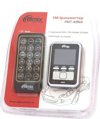 FM-модулятор Ritmix FMT-A954 - вид в упаковке