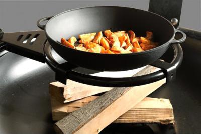 Гриль-барбекю Lappigrill LG-BBQ - чугунная сковорода