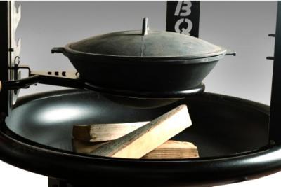 Гриль-барбекю Lappigrill LG-BBQ - поворотная подставка