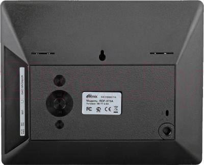 Цифровая фоторамка Ritmix RDF-970A (черный) - вид сзади