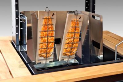 Гриль-барбекю Lappigrill LG-VS - набор для «томления» рыбы на огне