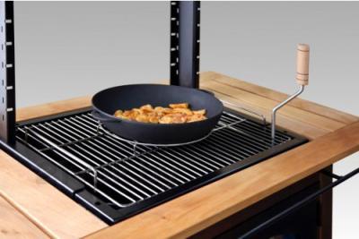 Гриль-барбекю Lappigrill LG-VS - чугунная сковорода