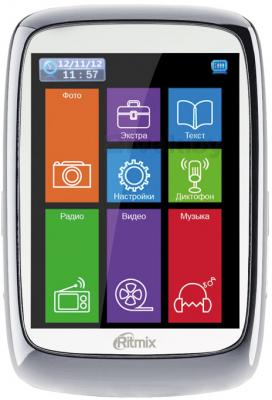 MP3-плеер Ritmix RF-8300 (4Gb, белый) - общий вид