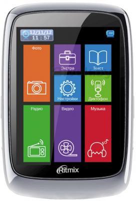 MP3-плеер Ritmix RF-8300 (8Gb, черный) - общий вид