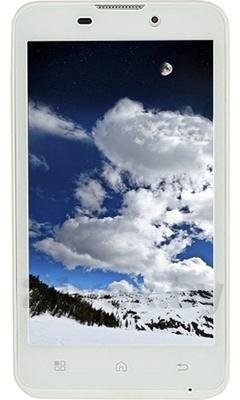 Смартфон Ritmix RMP-451 (White) - общий вид